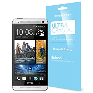 SPIGEN SGP HTC ONE 2013 Screen Protector Clear Steinheil [Ultra Crystal] [2-PACK] Front Screen Protector / HTC One M7 Screen Protector