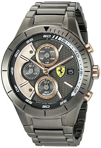 Ferrari Malla Me Up RED REV EVO Analog Business Cuarzo: Batería Reloj 0830304