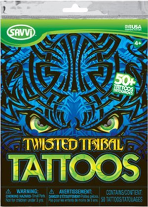 Twisted Tribal 2011(50 Temporary Tattoos) by Savvi - 1