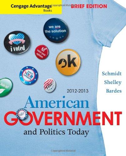 Cengage Advantage Books: American Government and Politics...