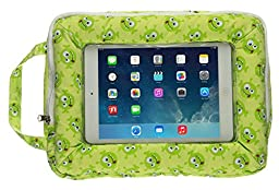 My Doodles Child Friendly Universal Cushioned Tablet Stand Holder Compatible With 7-8 Inch Tablets - Alien