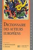"""Afficher """"Dictionnaire des auteurs européens"""""""