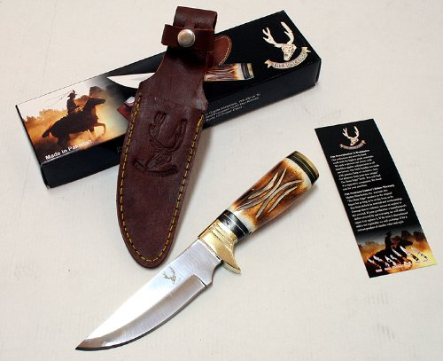 Bone Handle Hunting Knife