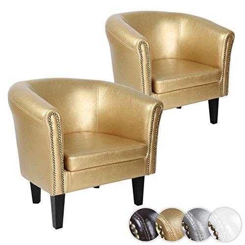 Miadomodo-Chesterfield-Sessel-Sitzgruppe-inkl-Kupferngelkpfe-aus-Holz-in-4-verschiedenen-Farben-im-2er-Set