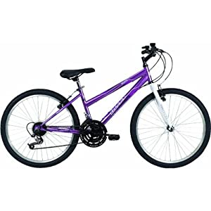 Huffy Bicycle Company Ladies 24514 Granite Bike, Metallic Purple, 24-Inch by Huffy