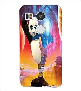 PrintDhaba Kung-Fu Panda D-3447 Back Case Cover for LG NEXUS 5X (Multi-Coloured)
