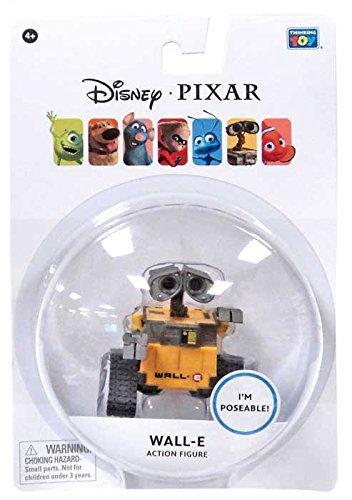 Disney Pixar WALL-E 3 Inch Poseable Wall-E Figure - 1