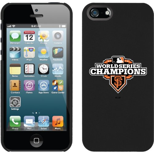 Best Price Giants 2012 - World Series Champs design on a Black iPhone 5s / 5 Thinshield Snap-On Case by Coveroo