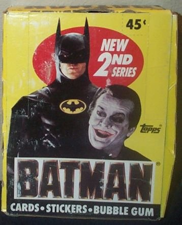 Buy Batman Movie Trading Cards & Stickers Box Series 2 -36 Count