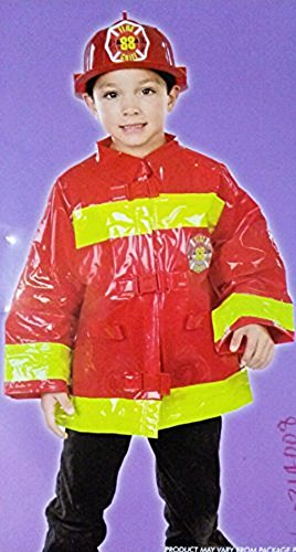 Child's Fireman's Costume - 3 yrs. size