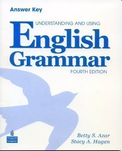 UNDERSTANDING+USING ENGLISH-ANSWER KEY