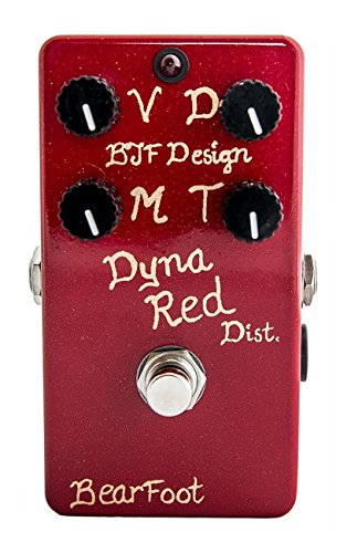 BearFoot FX Dyna Red Distortion 4 Knob