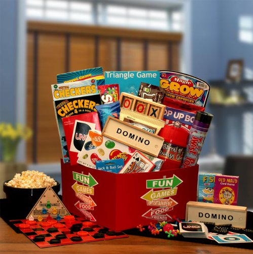 More Fun & Games Gift Box Black/Red