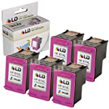 LD © Remanufactured Replacements for Hewlett Packard CC564WN (HP 61XL) Set of 5 High Yield Tri-Color Ink Cartridges for use in the following HP Deskjet, ENVY e-all-in-one, and OfficeJet printers: 1000, 1010, 1050, 1051, 1055, 1056, 1512, 2050, 2510, 2512, 2540, 3000, 3050, 3050A, 3051A, 3052A, 3054, 3056A, 3510, 3511, 3512, 3516, 4500, 4632, 5530, 4630, 4635 ~ LD Products