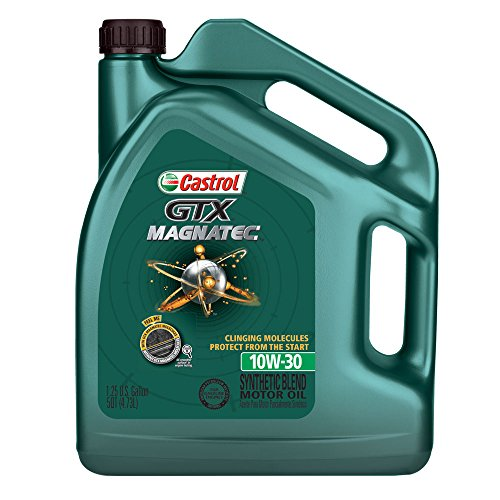 Castrol 03072 GTX Magnatec 10W-30 Motor Oil - 5 Quart (Castrol 10w30 Synthetic Motor Oil compare prices)