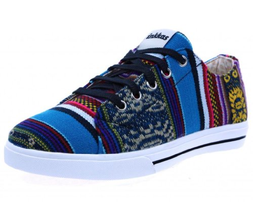 Inkkas Bluebird Low Top Sneaker Inklt0003 Blue 10 M Us