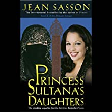 Princess Sultana's Daughters Audiobook by Jean Sasson Narrated by Catherine Byers
