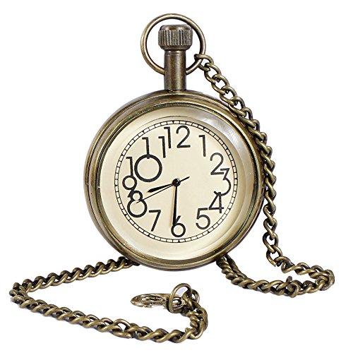 Classique-lisse-millsime-montre-mtal-numrique-couleur-or-des-femmes-des-hommes-de-poche-46-cm