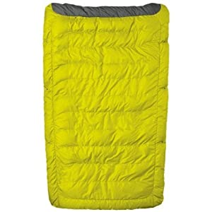 Therm-a-Rest Ventra Down Comforter, Yellow, Regular