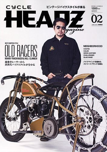 CYCLE HEADZ magazine Vol.2