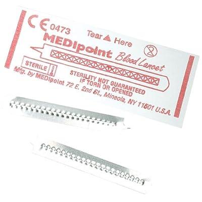 MEDI-POINT Stainless Steel Lancet