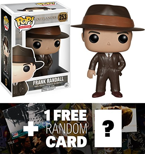 Frank Randall: Funko POP! x Outlander Vinyl Figure + 1 FREE TV Themed Trading Card Bundle [53901]