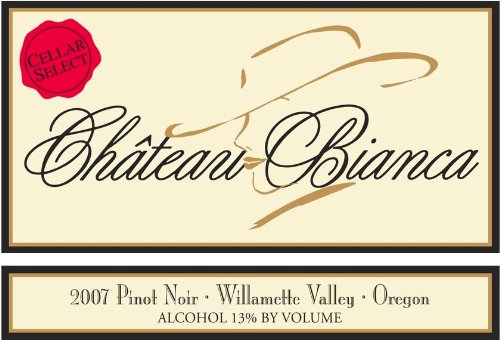 2008 Chateau Bianca Cellar Select Pinot Noir 750 Ml