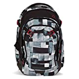 Satch Schulrucksack Match City Fitty 999 grau melange