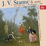 カール・シュターミッツ:ヴィオラ協奏曲 ニ長調Op.1 他  (Viola Concertos・Jan Peruska - viola)
