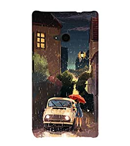 Ebby Premium Printed Mobile Back Case Cover With Full protection For Nokia Lumia 535/Microsoft Lumia 535 (Designer Case)