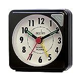 Acctim Luminous Hand Ignot Travel Alarm Clock 25-738 (Black)