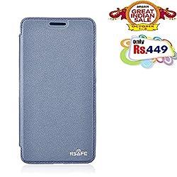 RSAFE Anti-Radiation Flip Book Case Cover For  Nokia 730 (dark blue)
