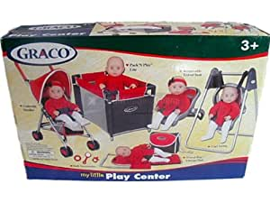 Graco 5-in-1 Deluxe Sterling Pram Playset. Toy Set ( no ...