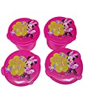 Disney Snack Containers, 1-Pack (4 Pieces)