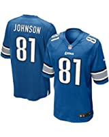 Calvin Johnson Detroit Lions NFL Blue Game Jersey