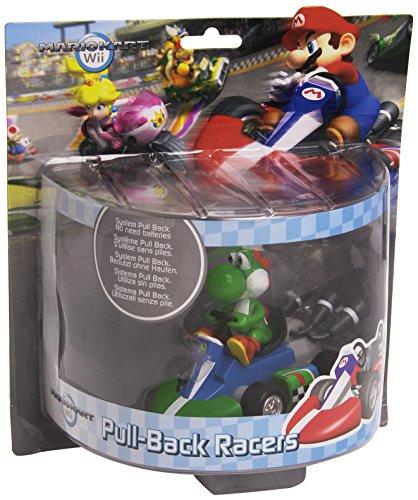 YOSHI Draghetto DRAGO Modellino 12cm KART Pull-Back RACER Retrocarica ORIGINALE Super Mario NINTENDO
