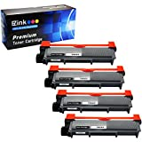 E-Z Ink Compatible Toner Cartridge Replacement for Brother TN630 TN660 High Yield 4 Toners, Black