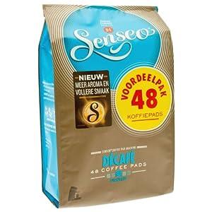Senseo Décafé / Decaffeinated, New Design, 48 Coffee Pods