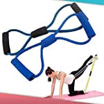 Training Resistance Bands Rope Tube W...