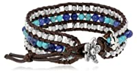Lucky Brand Beaded Rows Cuff Bracelet from Lucky Brand