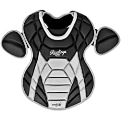 Rawlings Adult Catchers Chest Protector, Matte Black by Rawlings