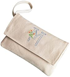Martha Stewart Crafts Accessory Bag with Strap, Monogram