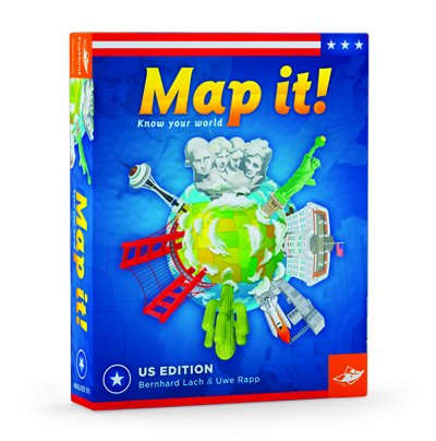 Map It USA Geography Game (Geopuzzle United States compare prices)