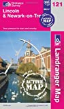 Ordnance Survey Lincoln & Newark-on-Trent (OS Landranger Map Active)