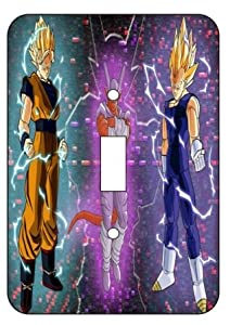 Dragon Ball Z Light Switch Plate Cover!! Brand New
