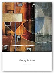 "Theory in Form by Darian Chase 26""x26"" Art Print Poster"