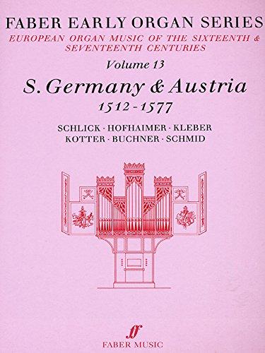Germany 1512-1577: v. 13 (Early Organ Series)
