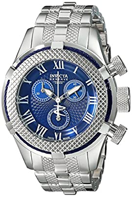 Invicta Women's 17155 Bolt Analog Display Swiss Quartz Silver Watch