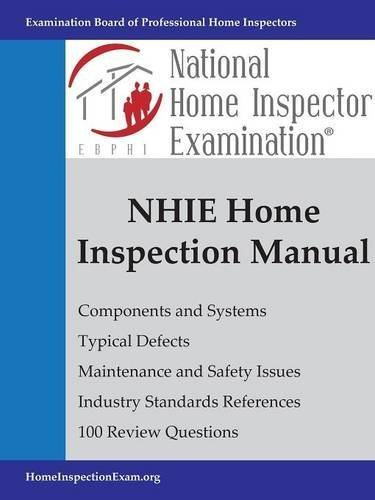 NHIE Home Inspection Manual by Bruce Barker (2015-07-19), by Bruce Barker