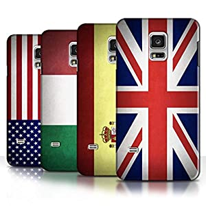 Stuff4 Hülle / Hülle für Samsung Galaxy S5 Mini / Multipack (43 Designs) / Flagge Kollektion